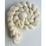 Corriedale Ecru Roving (Top) - Ecru Spinning or F1