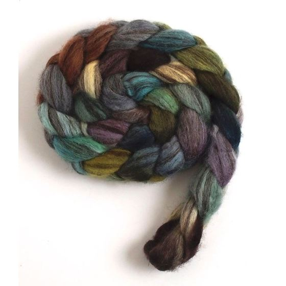 Overcast - Mixed BFL Wool Roving-2
